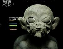 MUSA web design