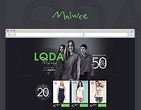 LQDA Malwee - Landing Page