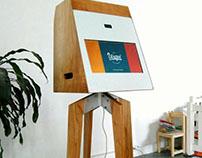 Mueble multifunción para Photobooth // cliente: UISQUI