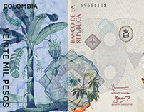 Colombian Currency Conceptual Design