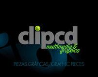 CLIPCD: PIEZAS GRÁFICAS / GRAPHIC PIECES