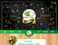 Chef Salada - Layout do Site