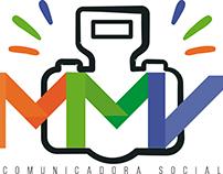 Logo MMV Comunicadora Social