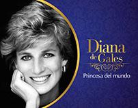 """Linea de tiempo """"Diana de Gales"""" (Web Revista exclusiva"""