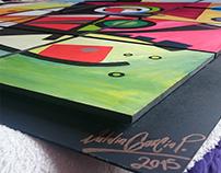 Reproducción del gran Kandinsky