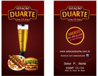 Logomarca e papelaria da Shopperia Estação Duarte