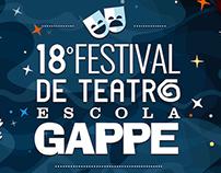 18º Festival de Teatro Escola Gappe | Advertising