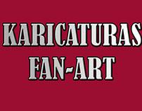 KARICATURAS FAN-ART / FAN-ART KARTOONS