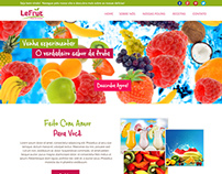 LeFruit - Website