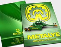 Metalye - Rediseño de marca y piezas gráficas de marca