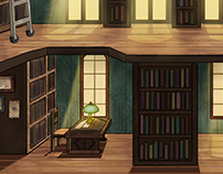 BG design for graphic Adventure