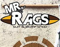 Mr. Rags Facebook post and management