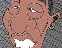 Cartoon Pelé
