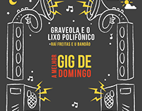 """Evento Cultural Bar - """"A melhor GiG de Domingo"""""""