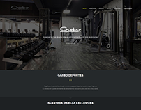 Garbo Webpage