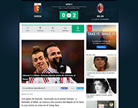 Crónica de fútbol italiano para Goal.com