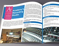 Brochure for the Academy of Contemporary Education