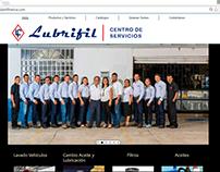 Diseño pagina web Lubrifil Neiva - Colombia