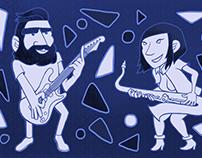 Musician Illustrations