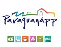 Paraguanaap, Landing page de app movil.