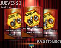 Stand Up Macondo Bar