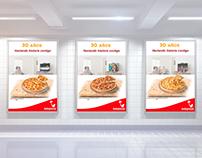 Telepizza's 30th anniversary campaign