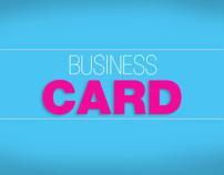 Tarjetas de Presentación / Business Card