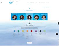 "UX/UI,Responsive Design, ""Concejo Deliberante"" Web Site"