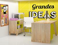 Diseño de espacio de trabajo