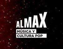 Diseño de piezas multimedia ALMAX 2016