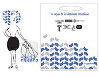 Diseño de bolsas - Editorial Santillana