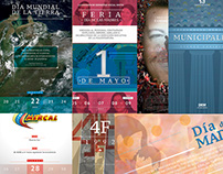 Afiches cortos institucionales