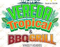 Cartel Vereda Tropical