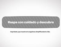 Digitel | Propuesta Campaña interactiva X-cribe Full