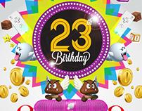 On-line Birthday Invitations