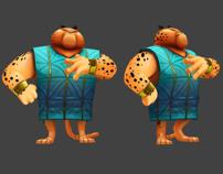Fantasy Character Design - Animal Set