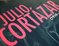 Poster Julio Cortázar - Homenaje 25 años