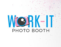 Logo Work-It Photo Booth