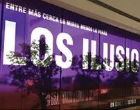 Publicidad en cines para la película Los Ilusionistas