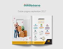 Revista Informe inmobiliario -Doble página