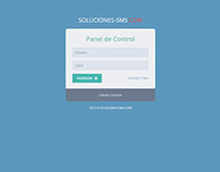 Desarrollo de Sistema Web - Soluciones-sms.com
