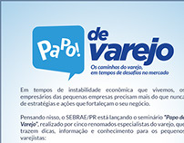 E-mail marketing Papo de Varejo - SEBRAE