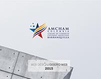 AMCHAM // Diseño Web
