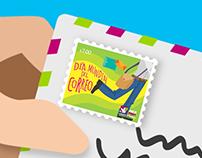 """Animación """"Día Mundial del Correo"""" MEX POST"""