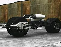 Batman Motorcycle model 2015