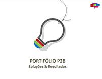 Portfólio p2b Comunicação e Marketing