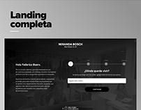 Landing Datos de búsqueda | MB
