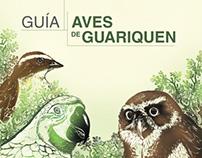 Diseño Editorial - Guía Aves de Guariquen