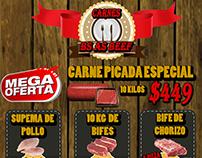 Folletos, Flyer para Buenos Aires Beef