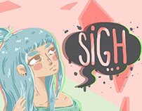 """""""Sigh"""" by Bonnes."""